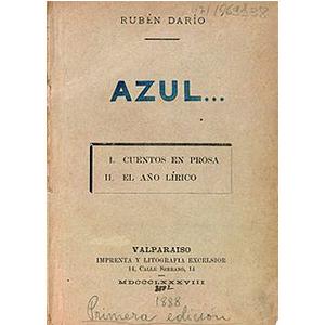 revistas literarias españolas. azul