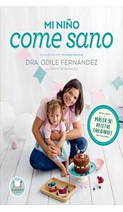 foto portada del libro mi niño come sano en la revista literaria galeradas