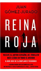 FOTO PORTADA LIBRO REINA ROJA EN REVISTA LITERARIA GALERADAS