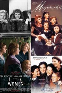 collage mujercitas.RevistaGaleradas.Comparaciónliteraturaycine