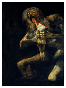 Revista Literaria Galeradas. Foto cuadro Goya