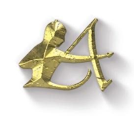Logo dorado Adarve