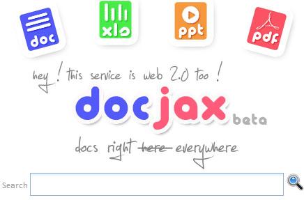 Buscar documentos online con DocJax