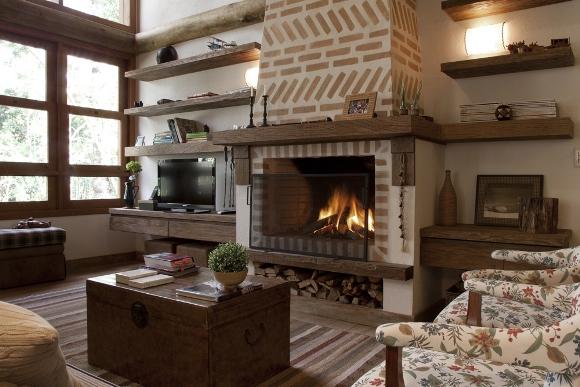 ESPECIAL INVERNODecorao rstica deixa o clima perfeito para as frias de inverno  ZAP em Casa