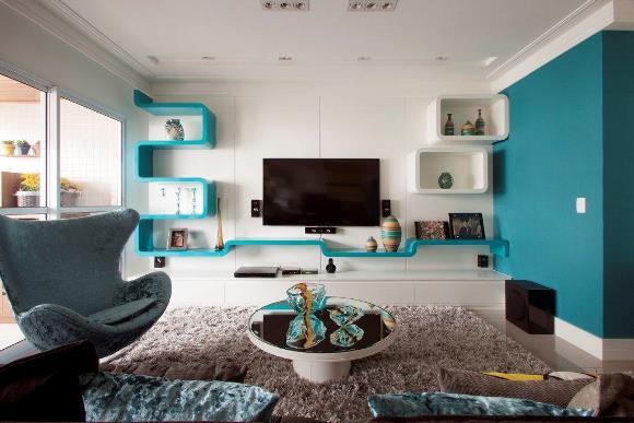 Use e abuse das cores na hora de decorar  ZAP em Casa