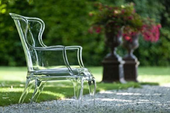 Cadeira transparente Marco Pocci (Foto: Divulgação)