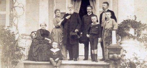 Familia Imperial Brasileira. Crédito: Fatos Desconhecidos.