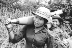 Soldadas vietcongs. Crédito: .vintag.es