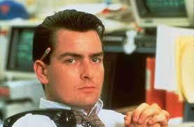 "Charlie Shenn em ""Wall Street"" (1987). Crédito: O Beco do Cinema."