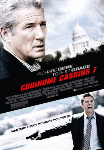 Poster do filme Codinome Cassius 7. Crédito: AdoroCinema.