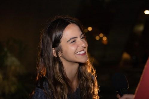 A atriz e artista plástica Pally Siqueira. Credito: Mariana S. Brites/Revista Intertelas.