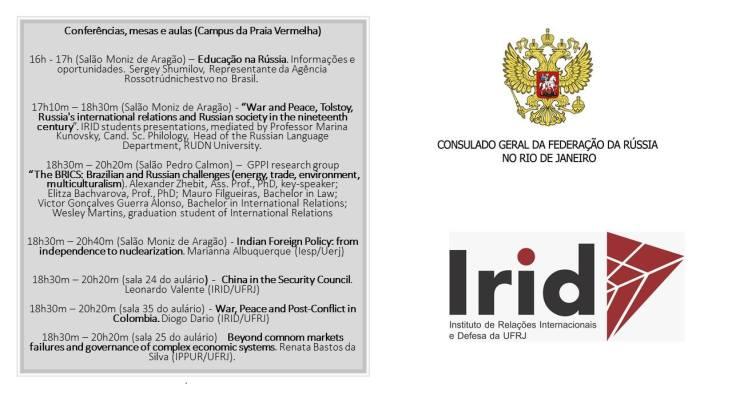 Crédito: Facebook do Consulado Geral da Rússia no Rio de Janeiro.