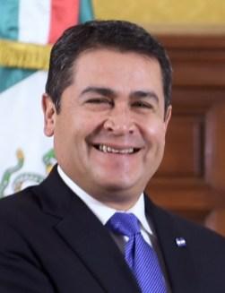 Juan Orlando Hernandez, atual presidente de Honduras. Crédito: Presidencia de la República.