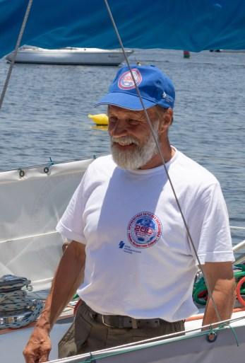 O marinheiro Nikolai Gregorovitch. Crédito: Mariana S. Brites/Revista Intertelas.