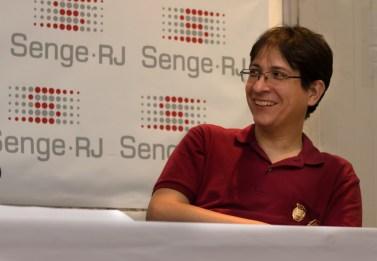 Ricardo Quiroga Vinhas, organizador e colaborador neste livro. Crédito: Mariana S. Brites/Revista Intertelas.
