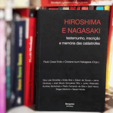Capa do livro Hiroshima e Nagasaki. Créditos: Mateus Nascimento.