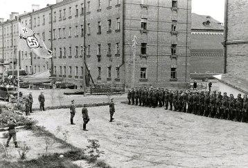 Tropas alemãs em Smolensk, 1941. Crédito: Wikiwand.
