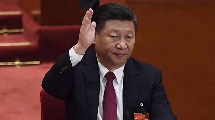 O atual Presidente da República Popular da China e Secretário-Geral do Partido Comunista da China, Xi Jingping. Crédito: BBC.