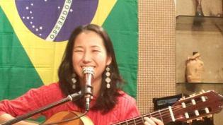 A musicista Karen Tokita. Crédito: Arquivo Pessoal.