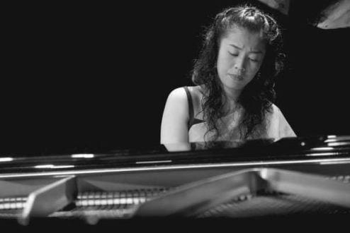 A pianista Yuka Shimizu. Crédito: Arquivo Pessoal.