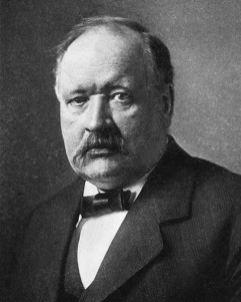 Svante Arrhenius. Crédito: Wikipedia.