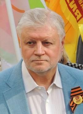 Sergei Mironov, ex-candidato a presidente em 2004, 2012 e 2018. Preside o partido Rússia Justa e é deputado federal na Duma de Estado. Crédito: Wikipedia.