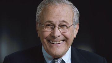 O ex-secretário de defesa de George W. Bush, Donald Rumsfeld. Crédito: NFP/Der Spiegel.
