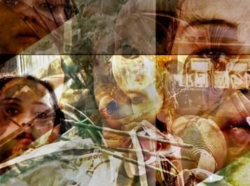 Dissimulada, série foto montagem digital (exposição virtual coletiva). Crédito: Rejane Arruda.