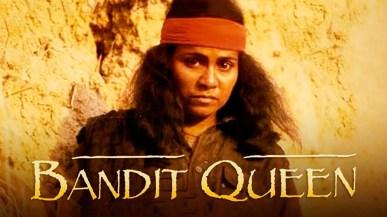 """Seema Biswas vive Phoolan Devi em """"Bandit Queen"""" (1994), de Shekhar Kapur. Crédito: YouTube."""