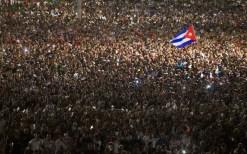 29 de novembro de 2016, Havana, Cuba, na praça da Revolução, despedida a Fidel. Crédito: Ladyrene Pérez/ Cubadebate.