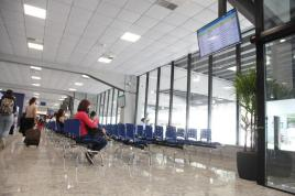 Rodoviária de Santos-Sala de Espera. Crédito: Isabela Carrari/ PMS.