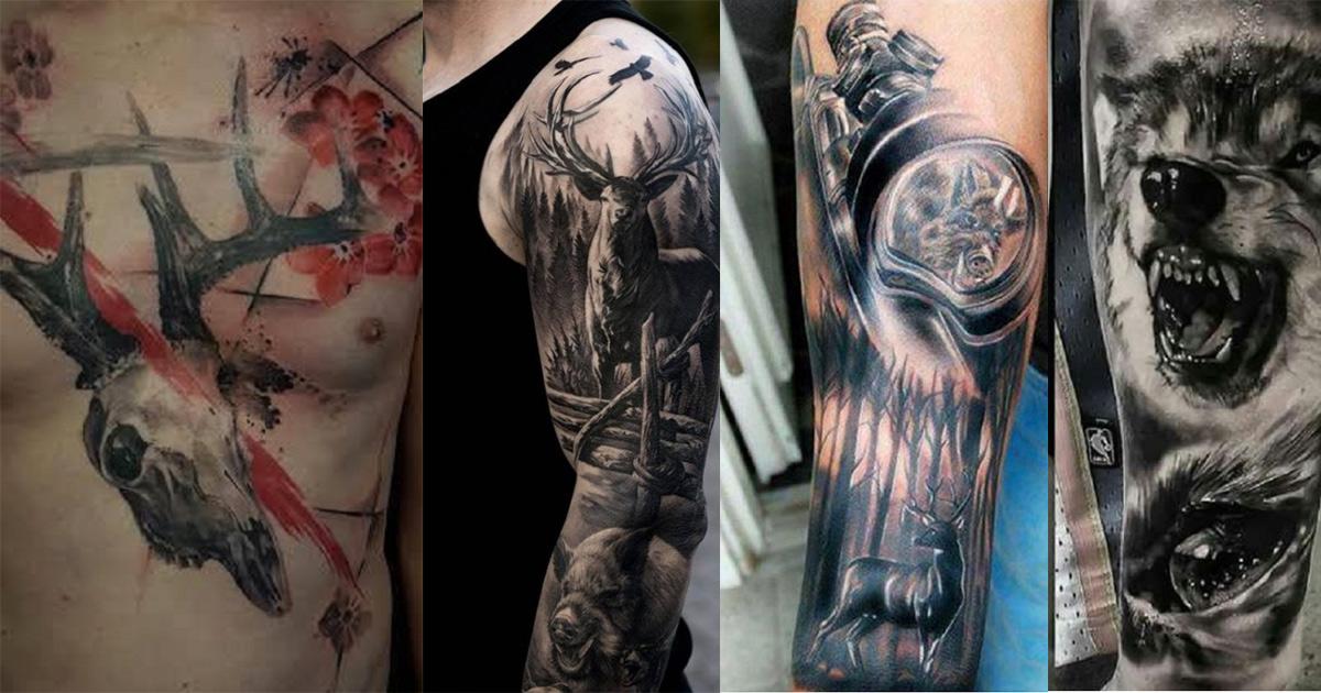 Tatuajes De Caza 30 De Los Mejores Diseños Jamás Creados