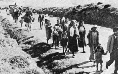 """El crimen de la carretera Málaga-Almería: """"La Desbandá"""""""