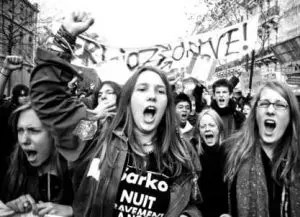 1º de Mayo, ¡la clase obrera con el socialismo, con el socialismo, la independencia!