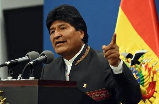 Golpe blando en Bolivia