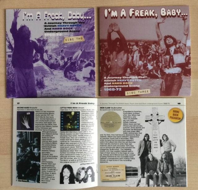 I'm a Freak Baby A Journey Through the British Heavy Psych & Hard Rock Underground Scene 1968-1972