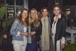 Aileen Mc Gregor, Margarita Rachetti, Ximena Arcos Perez y Chiara Deffeminis.