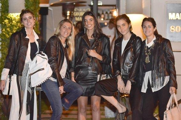 Chiara Deffeminis, Margarita Rachetti, Agnes Lenoble, Ana- Sofia Bustin y Clarita Anchorena.
