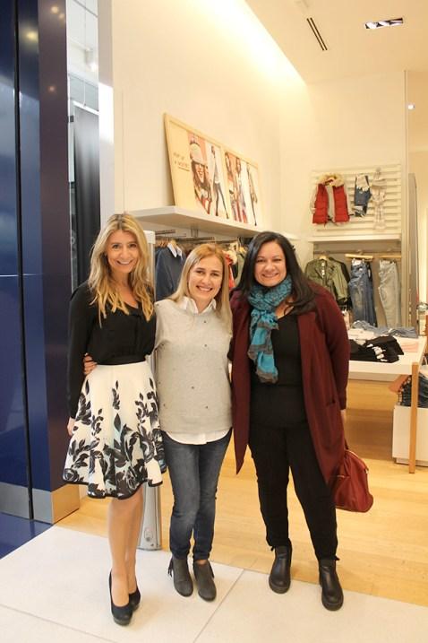 Karen Jawetz, Cecilia Alves y Ana Romero