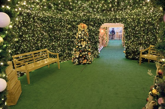 Como todos los años la magia de la navidad llegó a Punta Carretas Shopping.