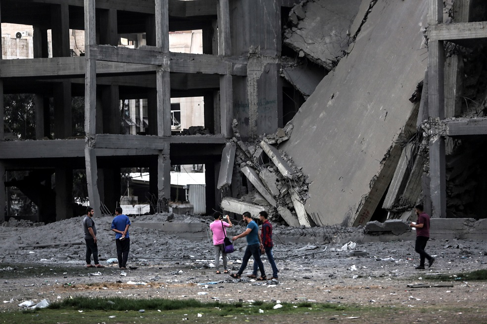 El bombardeo más violento, por parte de Israel, en la Franja de Gaza