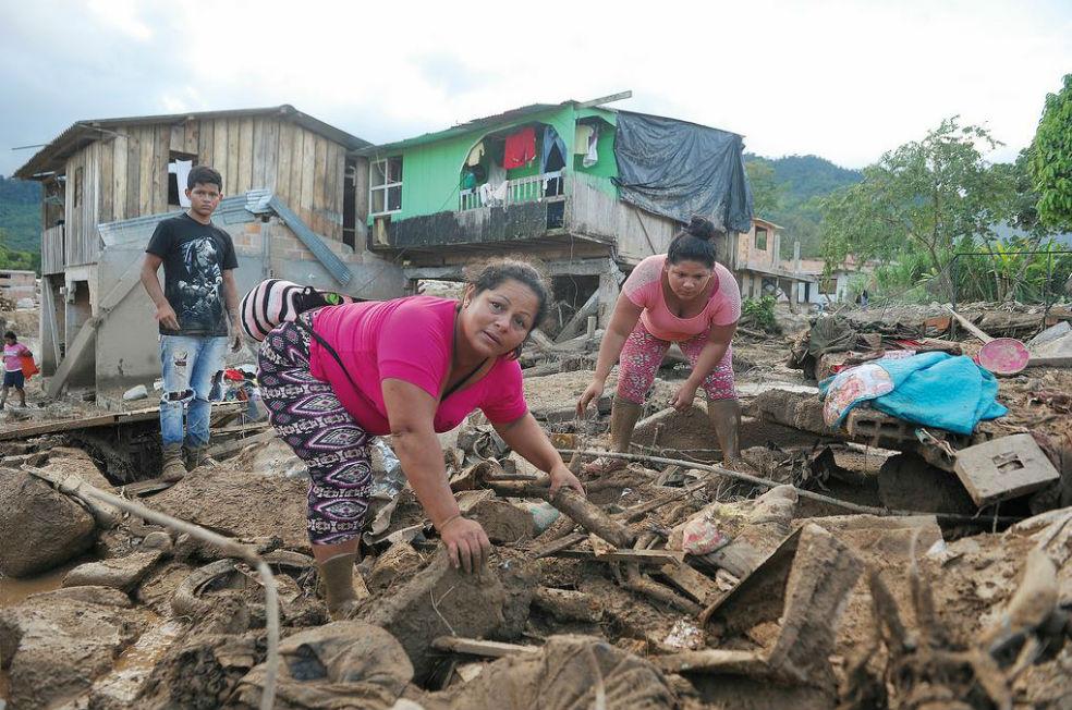 Vivir con miedo a la lluvia, relatos de sobrevivientes en Mocoa