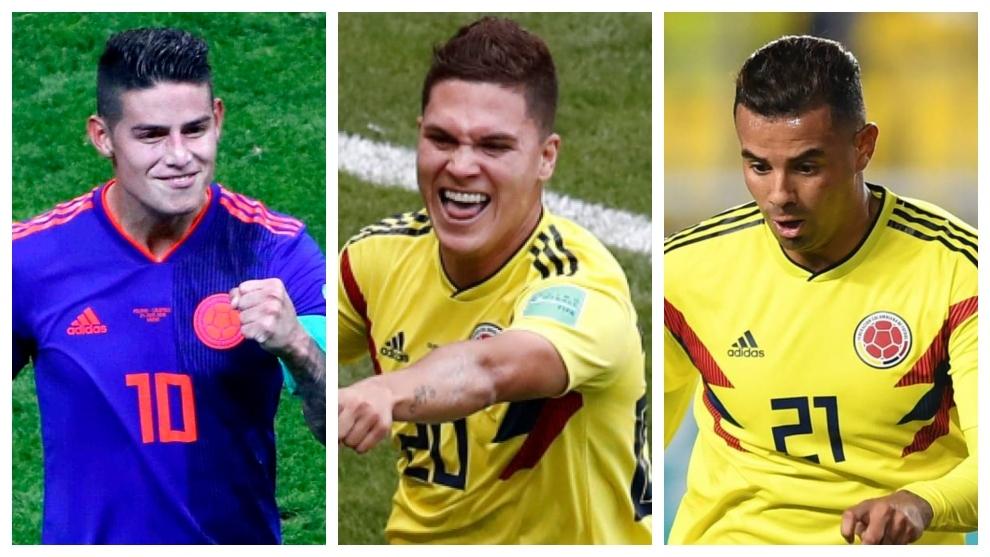 Una Colombia de 10 con James, Cardona y Quintero