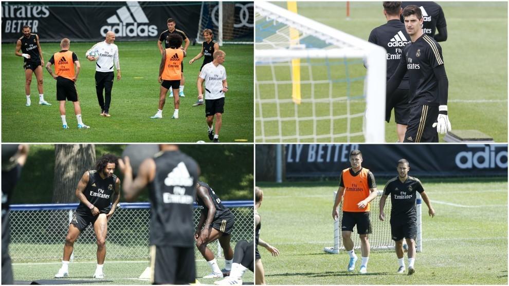 Lo que hay que ver del nuevo Madrid de Zidane y Hazard