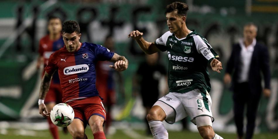 Se sacaron chispas: Cali-DIM, 2-2 en la final de ida de Copa Colombia