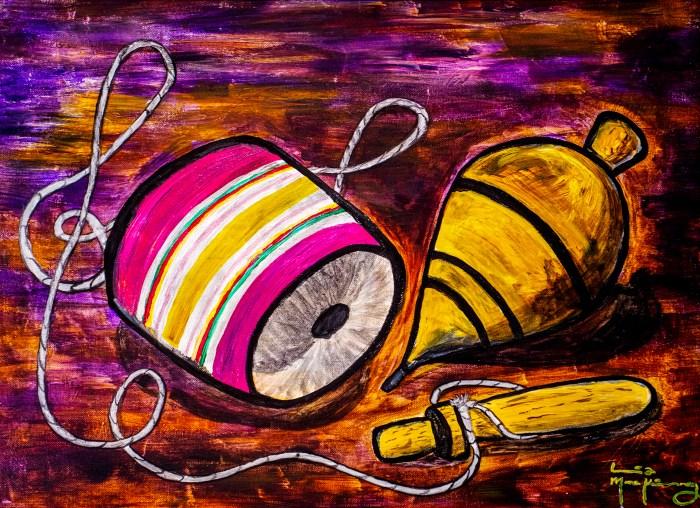 El Balero y el Trompo (Mexican Toys)