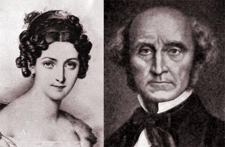 Resultado de imagen de John Stuart - MILL, Harriet Taylor MILL