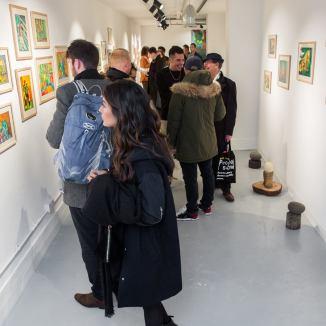 """Imágenes de la inauguración. Exposición """"José Nava: A Fish Out of Water"""", The Koppel Project"""