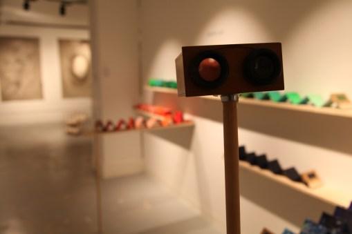 Imagen de la exposición. Melissa Cruz García y Germán Arrubla, Trabajos en la bóveda. Cortesía The Koppel Project