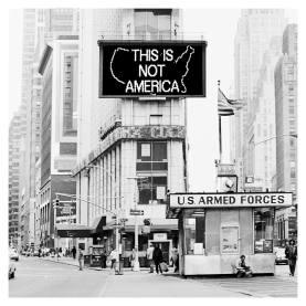 A Logo for America, 1987 Alfredo Jaar 5 fotografías